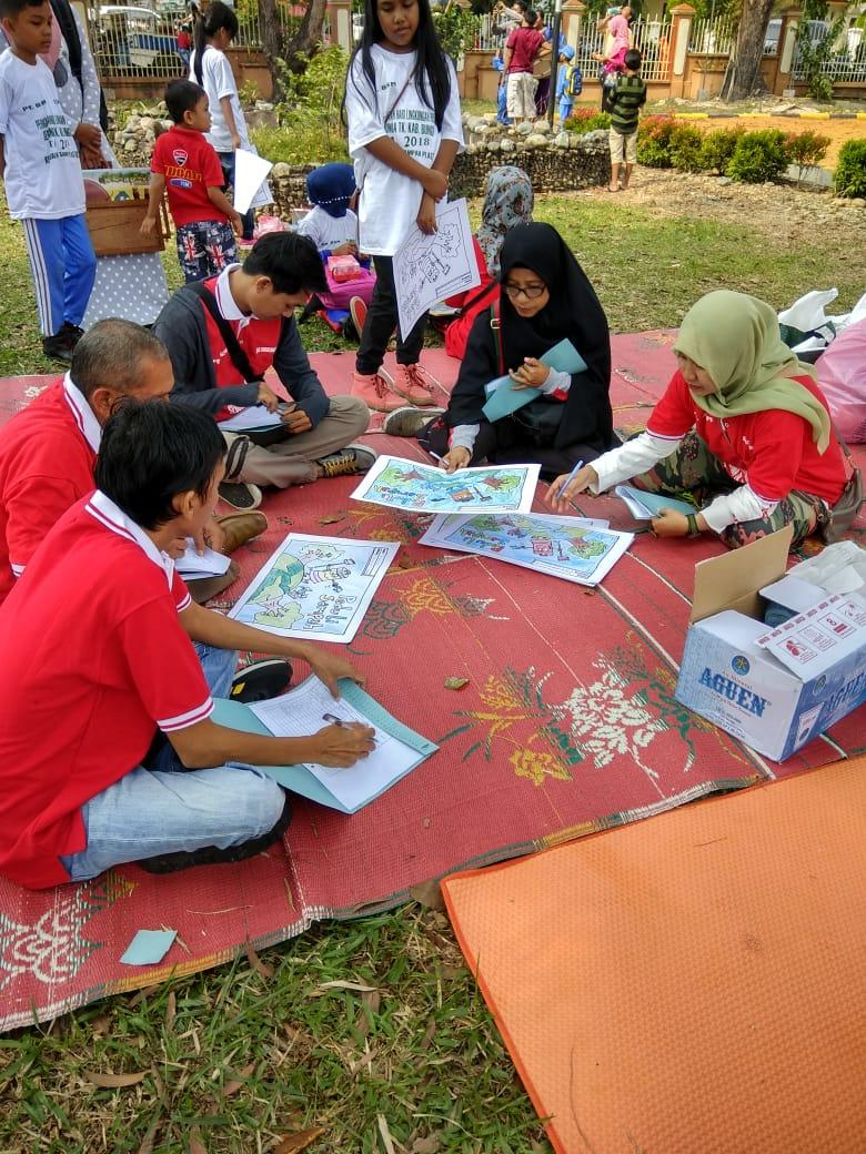 Rapat Penentuan Pemenang Lomba Mewarnai Tingkat Sdmi Se Kabupaten